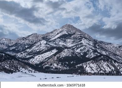Bridger Mountains Montana