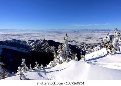 Bridger Mountains View