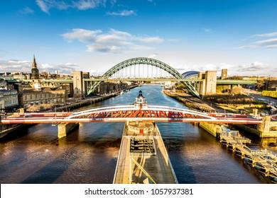Bridges across the river Tyne, Newcastle upon Tyne
