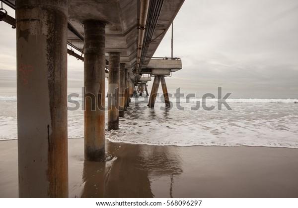 Bridges in Islamorada, in the Florida Keys, USA