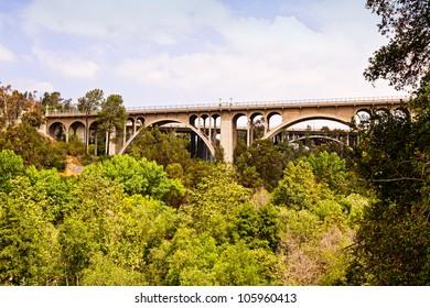 Bridges as metaphor for passages.