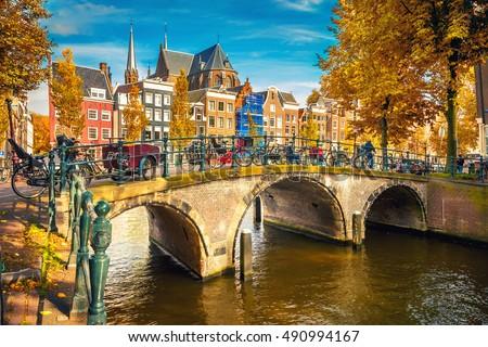 Bridges over canals in