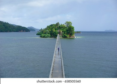 The bridges of Samana, Dominican Republic