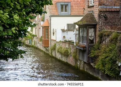 Bridges and streets of Bruges, Belgium