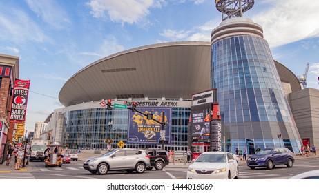 Bridgestone Arena in Nashville - NASHVILLE, TENNESSEE - JUNE 15, 2019