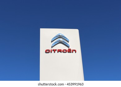 BRIE COMTE ROBERT, FRANCE - JULY 17, 2016: Citroen is a French automobile manufacturer.