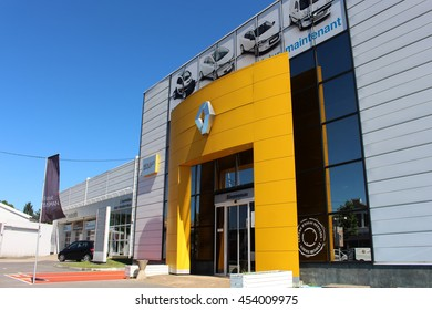 BRIE COMTE ROBERT, FRANCE - JULY 17, 2016: Renault store in Brie Comte Robert, France.
