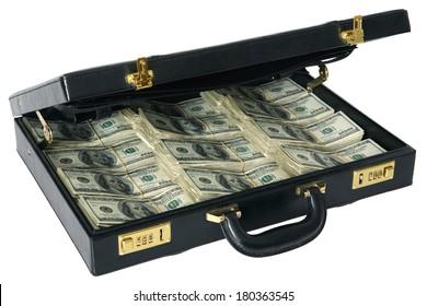 Briefcase full of Hundred Dollar Bills