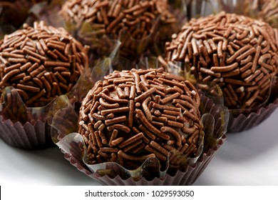 Brigadeiro (or brigadier), a brazilian chocolate sweet