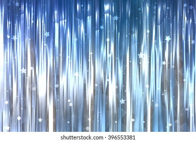 Bright abstract blue background with glitter