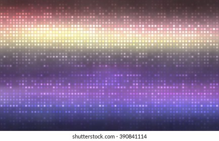 Bright abstract mosaic violet background with gloss