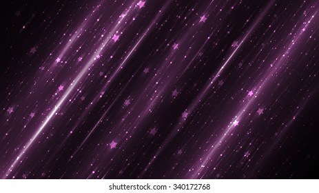 Bright abstract violet background with glitter