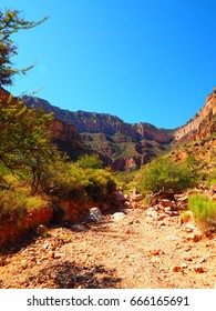 Bright Angel Trail to Plateau Point.