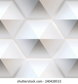 A bright background with hexagon, seamless tiling