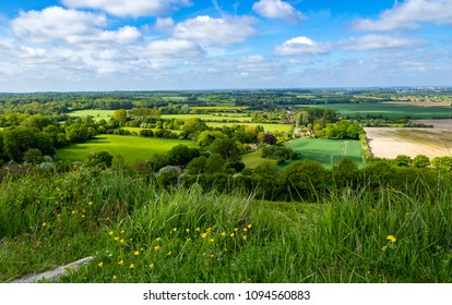A bright beautiful day in May and a walk from the village of Wye in Kent up the north downs with amazing views of the countryside