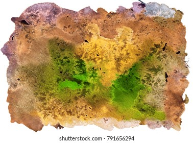 Bright beautiful painted texture on paper
