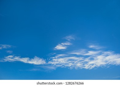 Bright beautiful sky with clouds for background