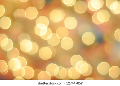 Bright Bokeh on a colorful Background
