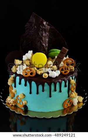 Bright Cake For Girls Decorated Cakes