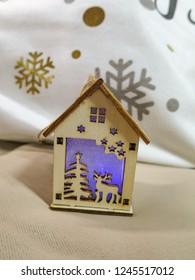 bright Christmas home