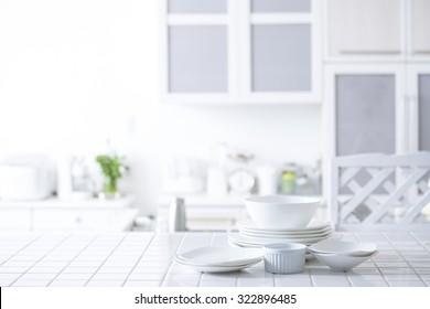 Bright, clean kitchen
