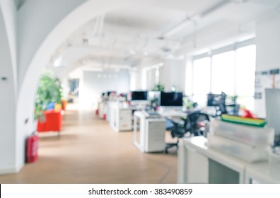 Bright and clean office environment, abstract background.