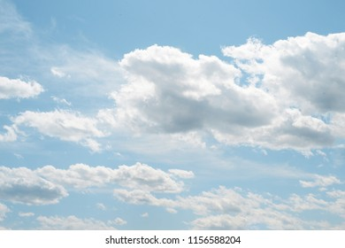 Bright clouds sky