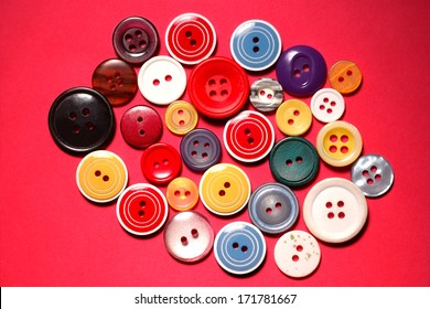 bright, color buttons