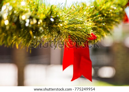 bright color christmas tinsel decorations for party outdoor christmas party decorations bright color decor