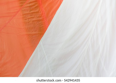 Bright Color with Nylon Parachute Fabric for Background .