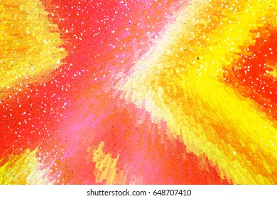 Bright colorful unique abstract background