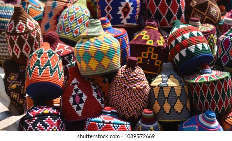 The bright colors of the eastern markets