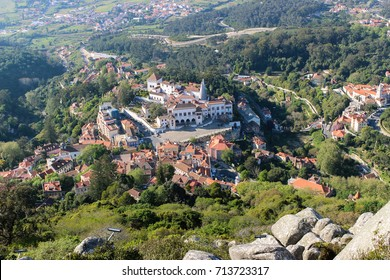 Bright Day, photos of moorish Castle in Sintra and some landscapes