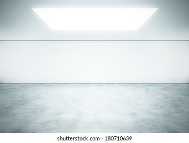 Bright empty space