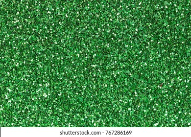 Bright green ethylene vinyl acetate (EVA)with glitter. High resolution photo.