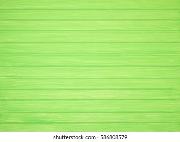 Bright and Happy Lime Green Painted Bead Boards Background with blank area for text, your words, copy or design.  It's horizontal but works as vertical, and has texture of brush strokes