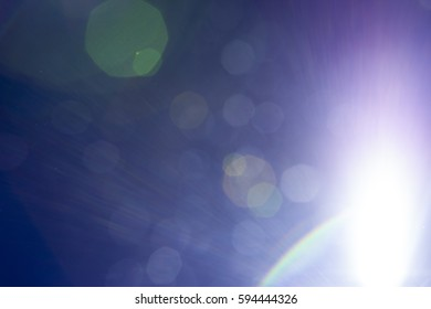 Bright Light Background / Concept