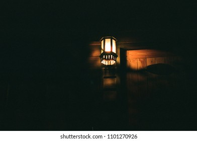 Bright Light in Night