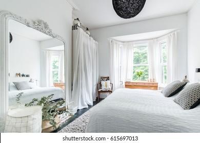 Bright modern designer bedroom