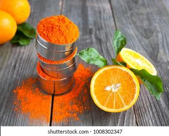 Image result for orange natural color for holi