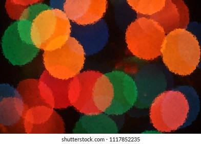 Bright positive wallpaper illustration for text