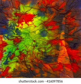 Bright red and green abstract background