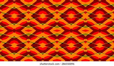 Bright rhombus ornament geometric abstract background pattern.