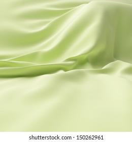 Bright silk on background.