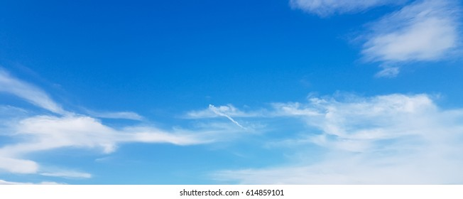 bright sky with clouds background.