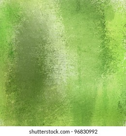 bright spring lime green background with grungy graffiti style smeared texture in artsy contemporary layout design with copyspace