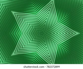 Bright star pattern.