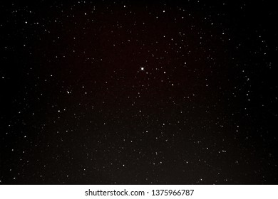 Bright stars in the dark sky as texture, background (design element)