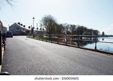 Bright street of Athlone