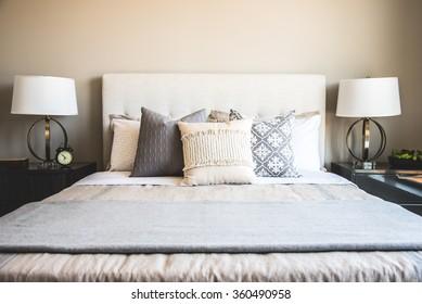 Bright, Stylish, Contemporary Bedroom